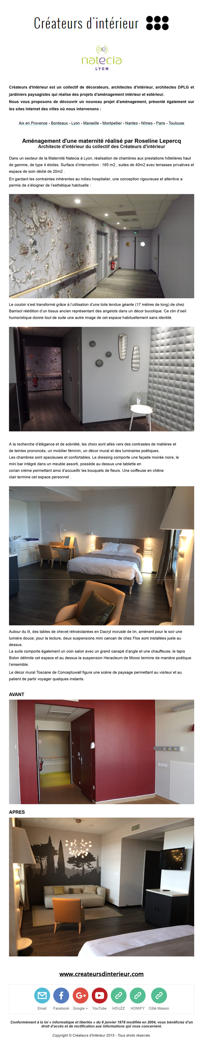 newsletter cr ateurs d 39 int rieur marseille. Black Bedroom Furniture Sets. Home Design Ideas